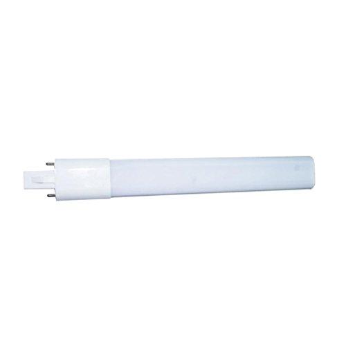 F Fityle G23 Lámpara De Adaptación LED De 2 Pines CFL/Reemplazo Fluorescente Compacta, 5W / 12W 85-265V - Blanco, 12W