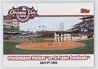 Cincinnati Reds vs. Chicago Cubs (Baseball Card) 2006 Topps Opening Day - 2006 #OD-RC