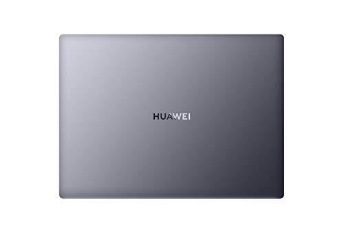 HUAWEI MateBook 14 PC Portable, 14'' Ecran Tactile FullView 2K, AMD Ryzen 7 4800H, 16Go RAM, 512Go SSD, Capteur D'empreinte Digitale, Huawei Share, Windows 10 Home, Clavier Français AZERTY, Gris