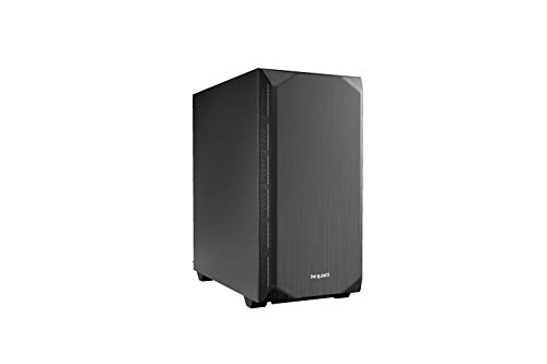 be Quiet! Pure Base 500 Mid Tower Gaming-Gehäuse, USB 3.0, Schwarz