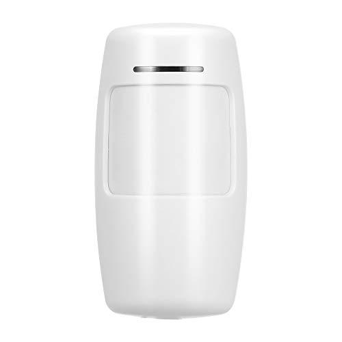 GEVJ 433 Mhz Sensor de movimiento inalámbrico Pir detector de infrarrojos pasivo para el hogar sistema de alarma antirrobo sin pilas