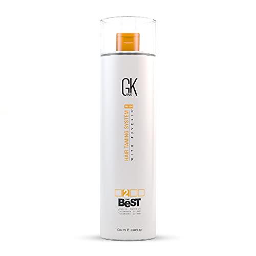 Global Keratin GK Hair Die beste 1000ml professionelle Haarglättung, glättende Keratin-Behandlung für seidiges, glattes Naturhaar - Neue Formel von GKhair