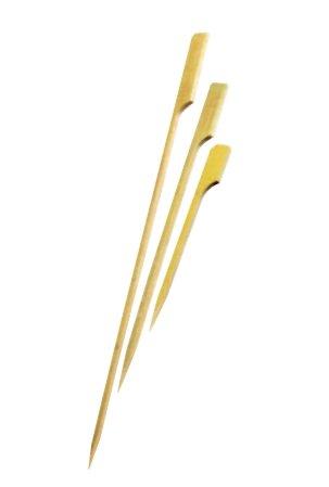 FaisTonGateau, Bastoncini per spiedini, in bambù, a forma di mazze da golf, 9cm, confezione da 200