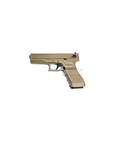 CYMA Airsoft G18 Pistolet AEP Semi/Rafale Cm030T (0.5 Joule) Désert