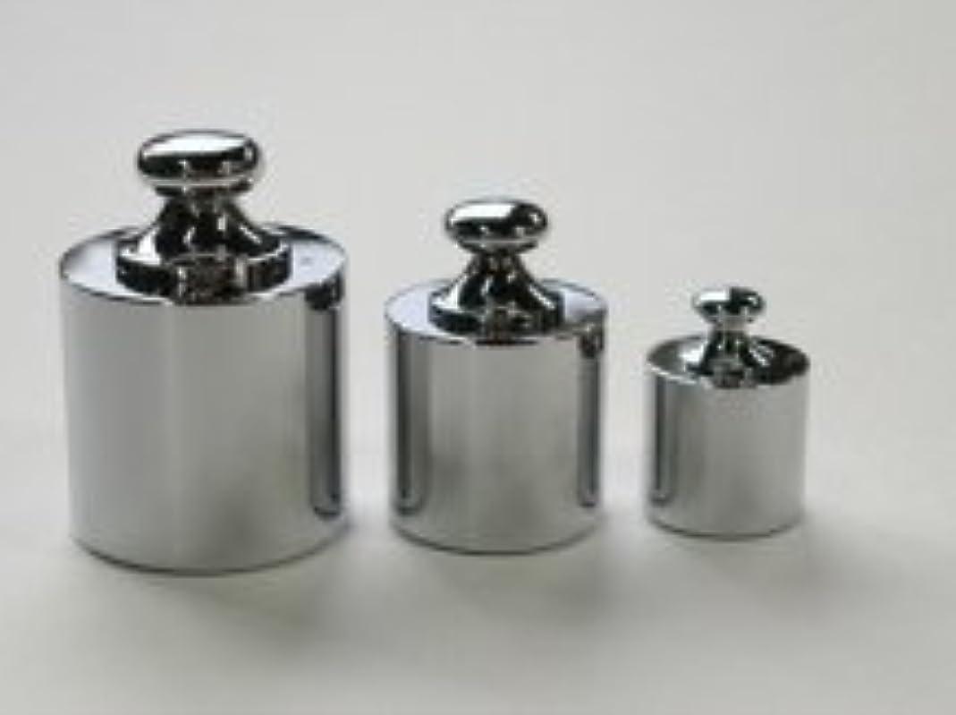 成り立つフォーマル鳴らすイシダ 円筒型分銅 基準分銅型(黄銅クロムメッキ) M1CBB-500G