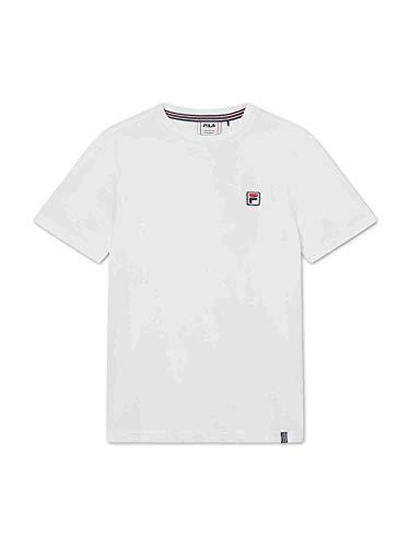 Fila Ryan T-Shirt, Bianco, 146-152 cm Bambino