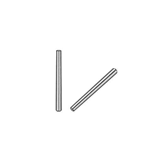uxcell 45# Carbon Steel GB117 35mm Length 3mm Small End Diameter 1:50 Taper Pin 10Pcs