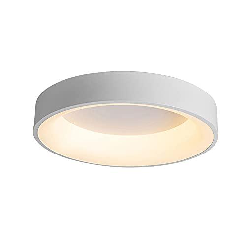 JXINGZI Lámparas Luz Tres Tonos (3000k / 4000k / 6500k) Instalación Empotrada Foco Techo Lámpara Techo LED 24 W Ahorro Energía Color Redondo para Uso En Dormitorio, Sala Estar, Comedor, Pasillo
