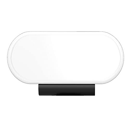 H HILABEE Luz de Video LED para teléfono Inteligente y cámara, Panel de luz Regulable en Color, batería Recargable incorporada para Video, fotografía,