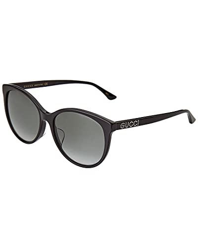 Gucci Sonnenbrille GG0729SA 001 Sonnenbrille Damenfarbe Schwarzgrau Linsengröße 56 mm