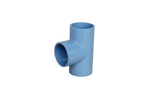 altone PD-01497 50mm PVC T-Stück, grau