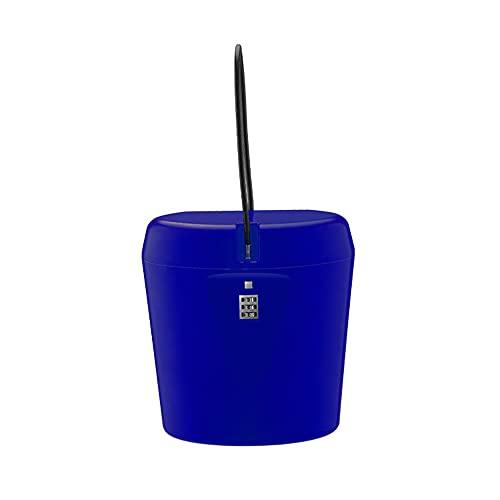 Cassaforte portatile per esterni, con password, accessorio portatile per il viaggio stradale...