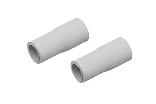 DL-pro 2 tubos de desagüe universales con adaptador de diámetro de 21 mm a 19 mm, para lavadora y lavavajillas