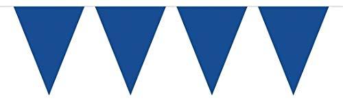 Folat Guirlande 10 Metre XL – Bleu fête des Drapeaux