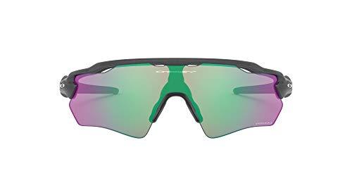 Oakley Youth Boy's OJ9001 Radar EV XS Path Shield Sunglasses, Steel/Prizm Golf, 31 mm