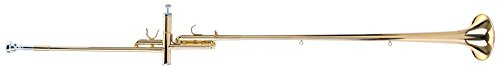 Classic Cantabile AT-1871 Aida-Trompete (Fanfare Instrument, mit Mundstück und Koffer) gold