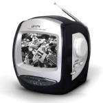 GPX 5' Black and White Television