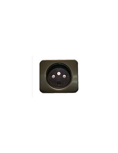 SIMON 75 Tapa Enchufe 2P+TT Desplazada + Seguridad