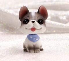 Lltkkk 8 Diseño muñeca Linda Sacudir la Cabeza Mini Perro Ornamentos del Coche del Interior Interior Auto del Tablero de Instrumentos Bobble Accesorios for automóviles (Color Name : 1)
