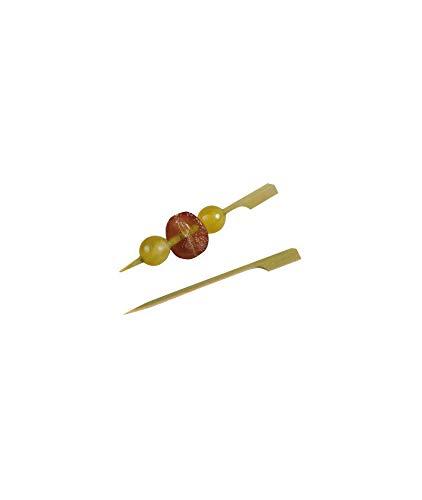 Teppo Gushi - Pala de bambú (100 unidades, 10,5 cm x 0,82 g)