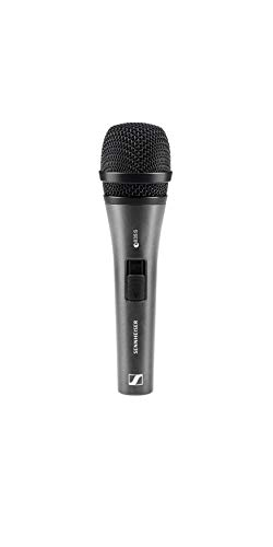 Sennheiser Consumer Audio E835-S Dynamic Cardioid Vocal Microphone with on/off switch, Charcoal (e835 S)