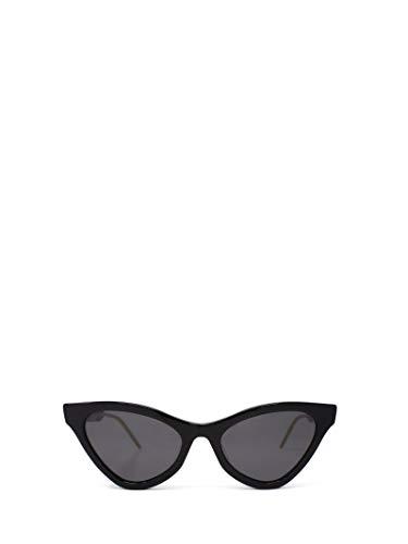 Gucci Luxury Fashion Donna GG0597S001 Nero Metallo Occhiali Da Sole   Stagione Permanente