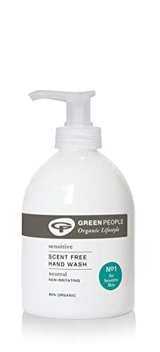 Green People NeutralScent libre de lavado a mano, sin perfume, 300 mililitros