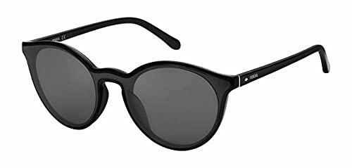 Fossil Unisex Fos 3108/G/S Sonnenbrille, Schwarz (Mehrfarbig), Einheitsgröße