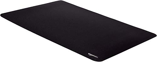 Amazon Basics Large Extended Gaming Computer Mouse Pad - Black