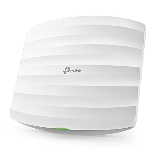 TP Link EAP115 Point d'Accès Wi Fi N 300Mbps PoE Plafonnier 1 port 10/100Mbps, Support PoE,White