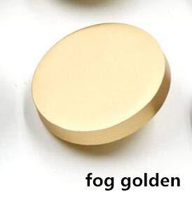 VCX sierknoppen van metaal, accessoires voor het naaien van kleding voor laarzen, knopen, fantasie, kleur: zilver, zwart, goudkleurig, 10mm, Fog golden