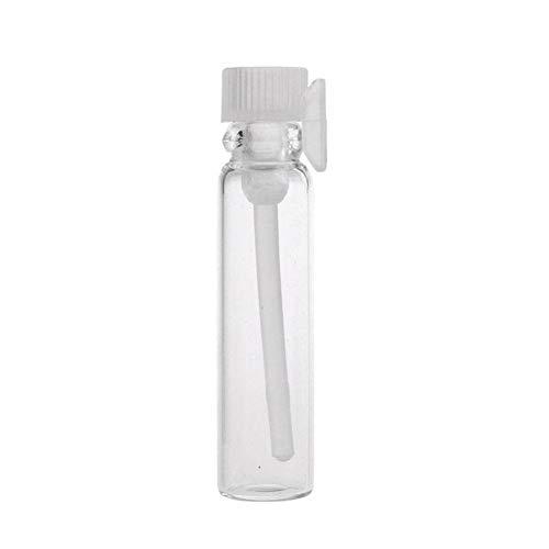 Botella 50 X Perfume Pequeña Botella De Vidrio Botellas De Muestra Perfume Medio Ml Vaciar Laboratorio Líquido Tubo Perfume Bottle Test Test (Color : 2ml)