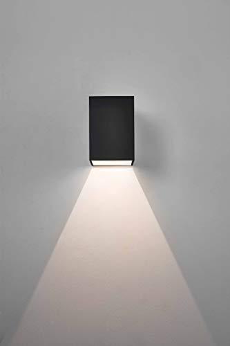 Excloosiva - Tundra 10cm LED Applique Murale Noir
