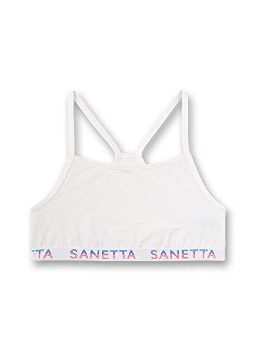 Sanetta Mädchen Bustier, Beige (Broken White 1427), (Herstellergröße: 164)