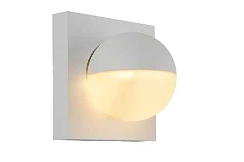 Lucide PHIL - wandlamp - LED - 1x4W 2700K - wit