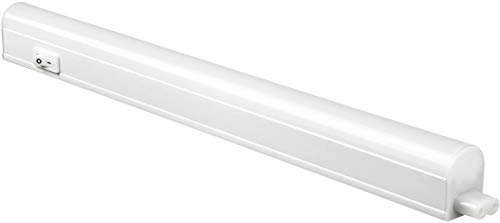 Sunlite 53080-SU LED Linkable Under Cabinet Light Fixture 12-Inch, 4 Watts, 120 Volts, 320 Lumen, For Kitchens, Bathrooms, Offices, Workbenches, ETL Listed, 4000K-Cool White