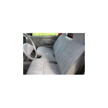 Durafit Seat Covers, Made to fit 1989-1995 Pickup 2 Wheel Drive Front Bench Seat Cover in Gray Endura with Small Shifter Cutout