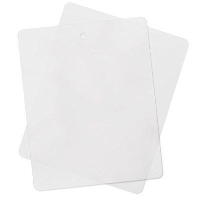 ASR Outdoor FCB-2110 Thin Flexible Kitchen Cutting Board Chopping Mat (4 Pack)