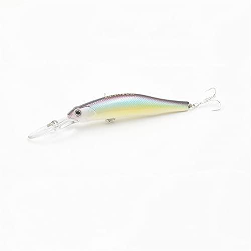 BCSIX 1 unids 12 cm 13.4g Longitud de Pesca LUGA LUGA DE Pesca Lento Pesca DE PESCADA WABBLERS CAITOS Duros CAITOS Magnet Magnet (Color : 3, Size : 120mm)
