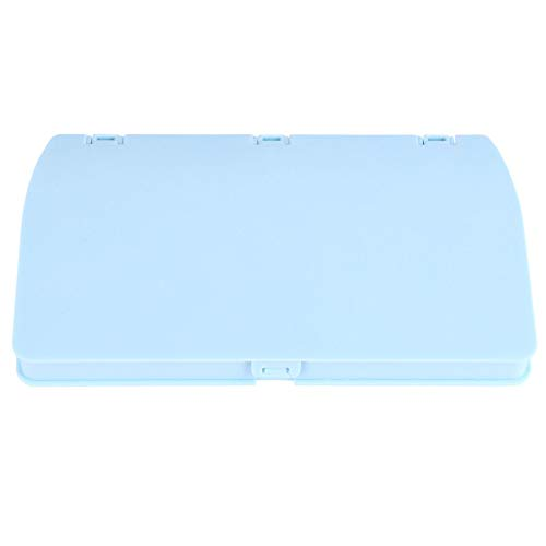 LUOEM Couvercle de La Bouche Boîte de Rangement Étui de Rangement en Plastique Boîte Étanche à La Poussière Bouche Muffle Keeper Dossier Titulaire Conteneur Bleu