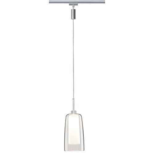 Paulmann URail LED Pendulum Arido II 5W GU10 Chrom matt mit klarem und