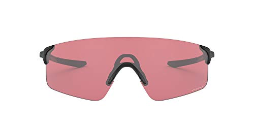 Oakley EVZero Blades - Gafas de sol para hombre, talla asiática, OS,Matte Black/Prizm Dark Golf