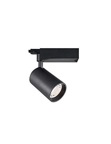 Faretto LED binario 25 W COB nero 24° 2750 lumen trifase – Bianco del giorno (5000 K)