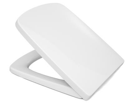 Cedo WC Sitz Boston Beach in weiß mit Absenkautomatik Softclose Classic®, abnehmbar mit Takeoff Original® Abnahmefunktion; aus Duroplast für Eckige Keramiken mit Befestigung von Oben