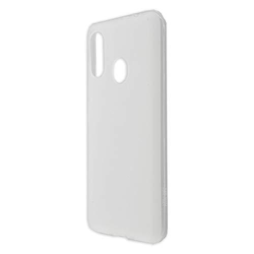 caseroxx TPU-Hülle für ZTE Blade V10 Vita / 10 Vita, Handy Hülle Tasche (TPU-Hülle in weiß-transparent)