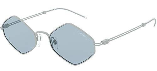 Emporio Armani 0EA2085 Gafas de sol, Matte Sugar Paper, 52 para Hombre