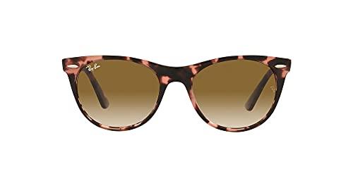 Gafas de Sol Ray-Ban WAYFARER II RB 2185 Pink Havana/Brown Shaded 52/18/145 unisex