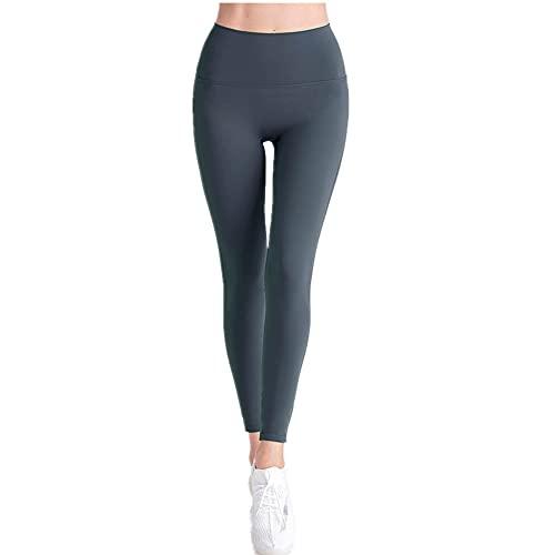 N\P Sin línea de vergüenza sensación desnuda cintura alta elevación de la cadera fitness melocotón cadera pantalones de yoga