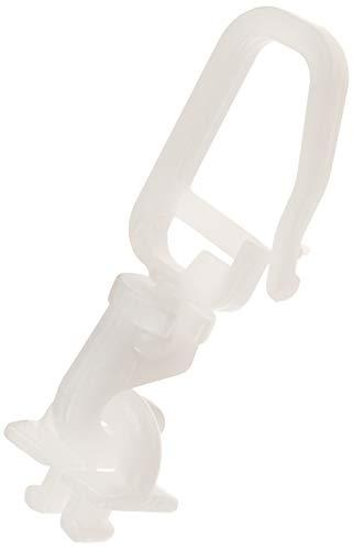Gardinia Drehgleiter für 4 mm Laufkanal weiß, Zutreffend, 20