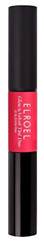 Elroel Glow & Velvet Tint Duo, 2 Blossom Pink - Lippenstift mit 24h Halt ohne auszutrocknen, 2 in 1...